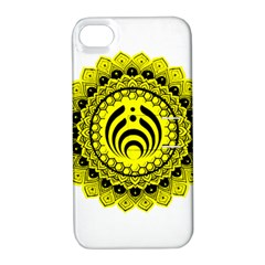 Bassnectar Sunflower Apple Iphone 4/4s Hardshell Case With Stand