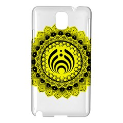 Bassnectar Sunflower Samsung Galaxy Note 3 N9005 Hardshell Case