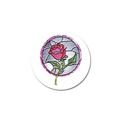 Beauty And The Beast Rose Golf Ball Marker