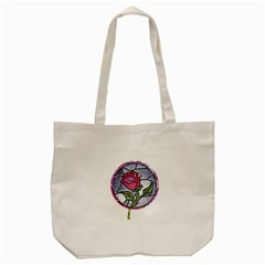 Beauty And The Beast Rose Tote Bag (cream)