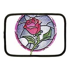 Beauty And The Beast Rose Netbook Case (medium)