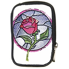 Beauty And The Beast Rose Compact Camera Cases