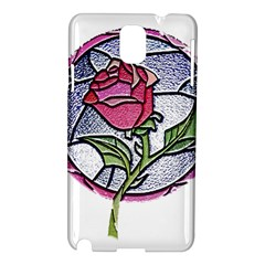 Beauty And The Beast Rose Samsung Galaxy Note 3 N9005 Hardshell Case