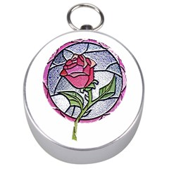 Beauty And The Beast Rose Silver Compasses