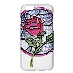 Beauty And The Beast Rose Apple Iphone 6 Plus/6s Plus Hardshell Case