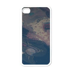 Pink Stream  Apple Iphone 4 Case (white)