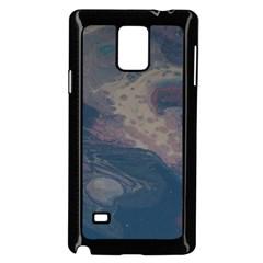 Pink Stream  Samsung Galaxy Note 4 Case (black)