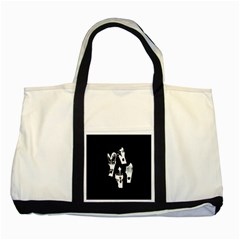 Kiss Band Logo Two Tone Tote Bag