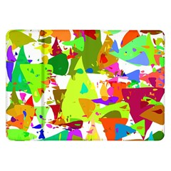 Colorful Shapes On A White Background                       Samsung Galaxy Tab 10 1  P7500 Flip Case