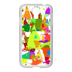 Colorful Shapes On A White Background                       Samsung Galaxy Note 2 Case (white)
