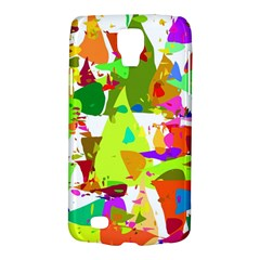 Colorful Shapes On A White Background                       Samsung Galaxy Ace 3 S7272 Hardshell Case