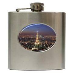 Paris At Night Hip Flask (6 Oz)