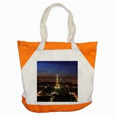 Paris At Night Accent Tote Bag