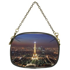 Paris At Night Chain Purses (two Sides)