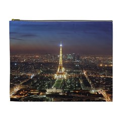 Paris At Night Cosmetic Bag (xl)