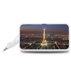 Paris At Night Portable Speaker (white)