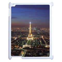 Paris At Night Apple Ipad 2 Case (white)