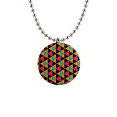Triangles Pattern                           1  Button Necklace