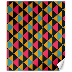 Triangles Pattern                           Canvas 8  X 10