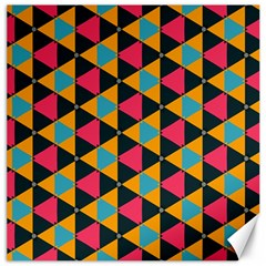 Triangles Pattern                           Canvas 12  X 12
