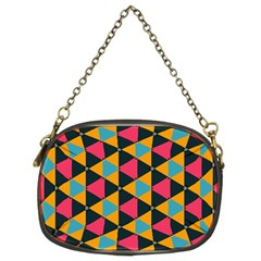 Triangles Pattern                      Chain Purse (two Sides)