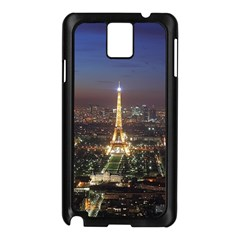 Paris At Night Samsung Galaxy Note 3 N9005 Case (black)