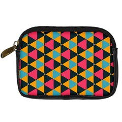 Triangles Pattern                      Digital Camera Leather Case