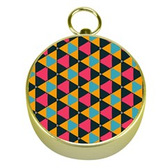 Triangles Pattern                           Gold Compass