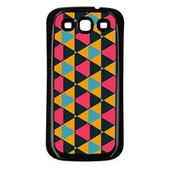 Triangles Pattern                     Samsung Galaxy S3 Back Case (white)