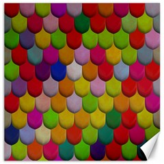 Colorful Tiles Pattern                           Canvas 20  X 20