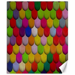 Colorful Tiles Pattern                           Canvas 20  X 24
