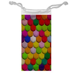Colorful Tiles Pattern                           Jewelry Bag