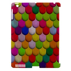 Colorful Tiles Pattern                     Apple Ipad 3/4 Hardshell Case (compatible With Smart Cover)