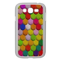 Colorful Tiles Pattern                     Samsung Galaxy S4 I9500/ I9505 Case (white)