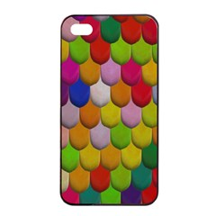 Colorful Tiles Pattern                     Apple Iphone 4/4s Seamless Case (black)