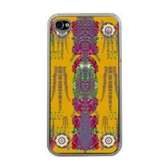 Rainy Day To Cherish  In The Eyes Of The Beholder Apple Iphone 4 Case (clear)