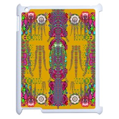 Rainy Day To Cherish  In The Eyes Of The Beholder Apple Ipad 2 Case (white)