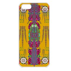 Rainy Day To Cherish  In The Eyes Of The Beholder Apple Iphone 5 Seamless Case (white)