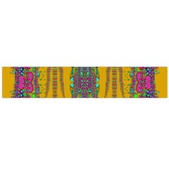 Rainy Day To Cherish  In The Eyes Of The Beholder Flano Scarf (large)