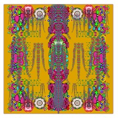 Rainy Day To Cherish  In The Eyes Of The Beholder Large Satin Scarf (square)
