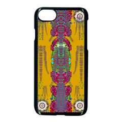 Rainy Day To Cherish  In The Eyes Of The Beholder Apple Iphone 7 Seamless Case (black)