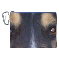 Rough Collie Eyes Canvas Cosmetic Bag (xxl)