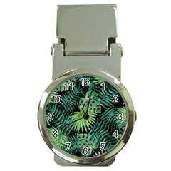 Tropical Pattern Money Clip Watches