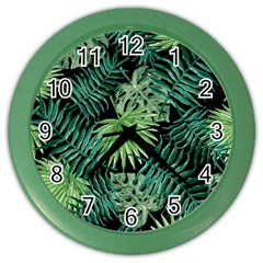 Tropical Pattern Color Wall Clocks