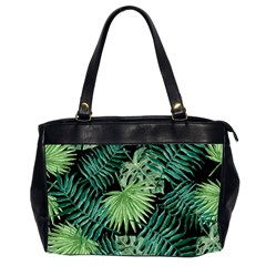 Tropical Pattern Office Handbags (2 Sides)