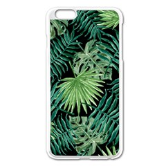 Tropical Pattern Apple Iphone 6 Plus/6s Plus Enamel White Case