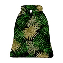 Tropical Pattern Bell Ornament (two Sides)