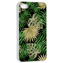 Tropical Pattern Apple Iphone 4/4s Seamless Case (white)