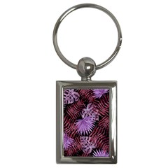 Tropical Pattern Key Chains (rectangle)