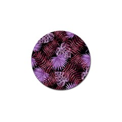 Tropical Pattern Golf Ball Marker (10 Pack)